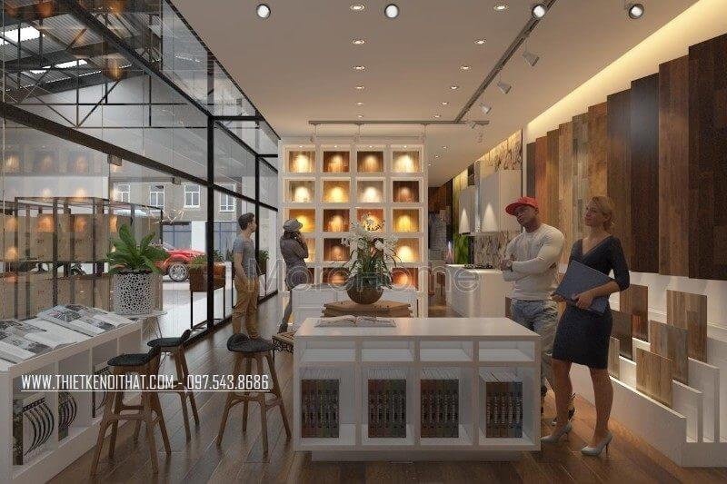 Thiết kế showroom nội thất Janhome