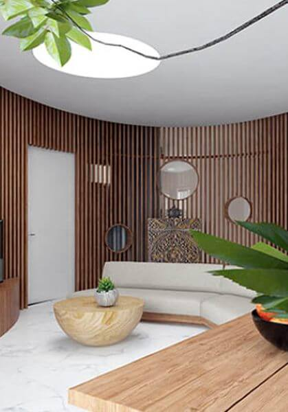 Thiết kế nội thất căn hộ Chung Cư Green Stars Phạm Văn Đồng trẻ trung