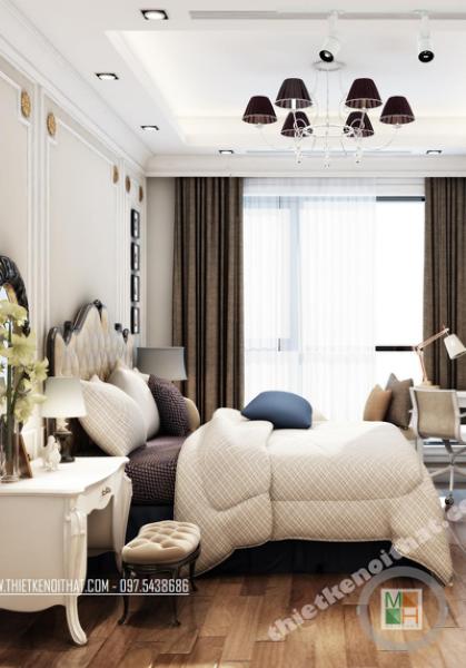 Thiết kế nội thất căn hộ chung cư ROYAL CITY hiện đại - DAVID NGUYEN