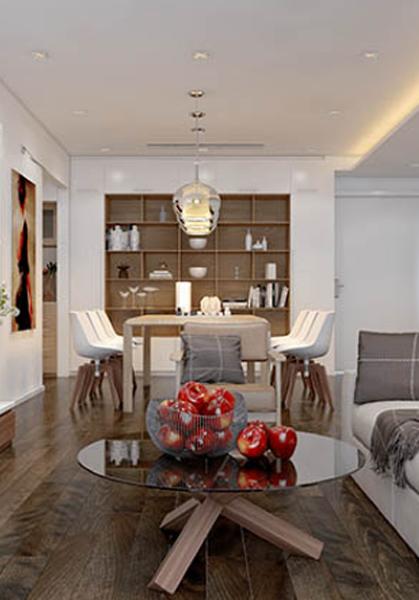 Thiết kế nội thất chung cư Golden Palace sang trọng, đẳng cấp - Anh Quý