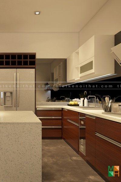 Thiết kế nội thất nhà phố - Anh Điệp - Ngô Thì Nhậm - Tp Đà Nẵng
