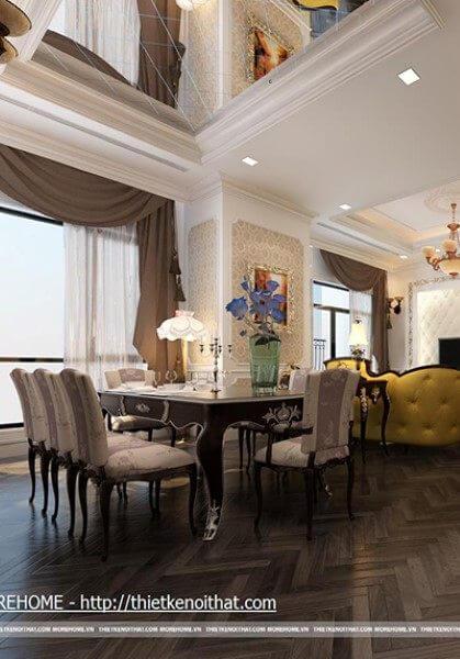Thiết kế chung cư Royal City phong cách tân cổ điển, sang - [Mr Hùng]