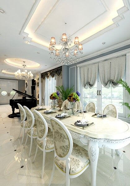 Thiết kế nội thất biệt thự tân cổ điển cao cấp VinHome Village - HS1-41