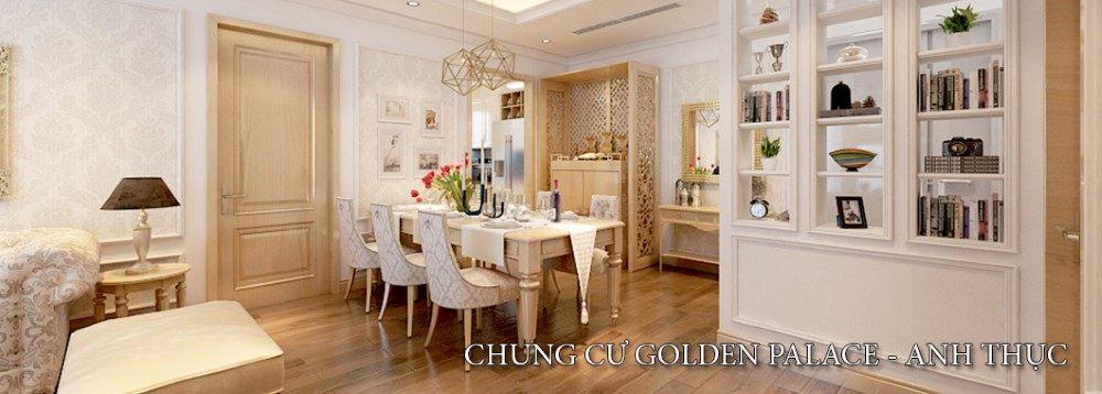 Thiết kế chung cư Golden Palace phong cách tân cổ điển