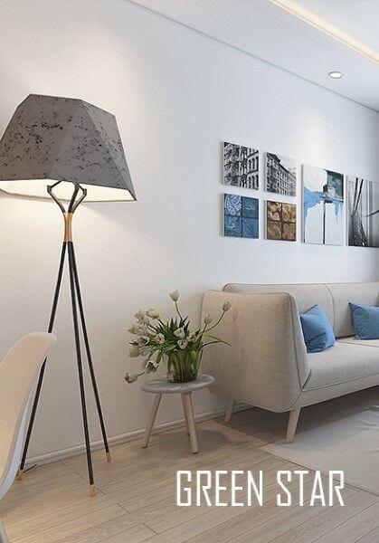 Thiết kế nội thất căn hộ chung cư Green Star hiện đại - Anh Sao