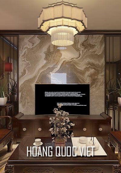Thiết kế chung cư Hoàng Quốc Việt phong cách Gỗ Việt sang trọng