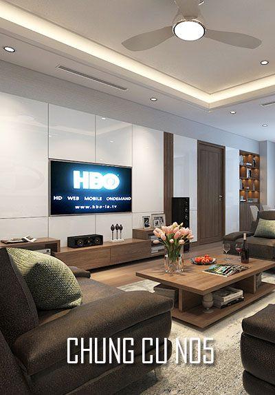 Thiết kế nội thất chung cư hiện đại N05 - Anh Đức