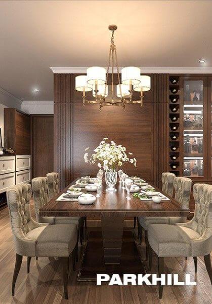 Thiết kế căn hộ chung cư PARKHILL cao cấp, sang trọng
