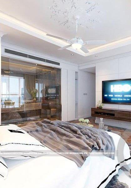 Thiết kế căn hộ chung cư Mandarin Garden - Chị Dung trẻ trung nhã nhặn