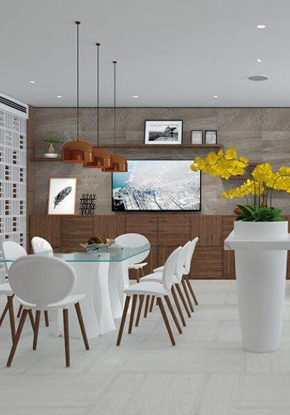 Thiết kế nội thất chung cư VINHOME Nguyễn Chí Thanh phong cách hiện đại- Chị Hồng