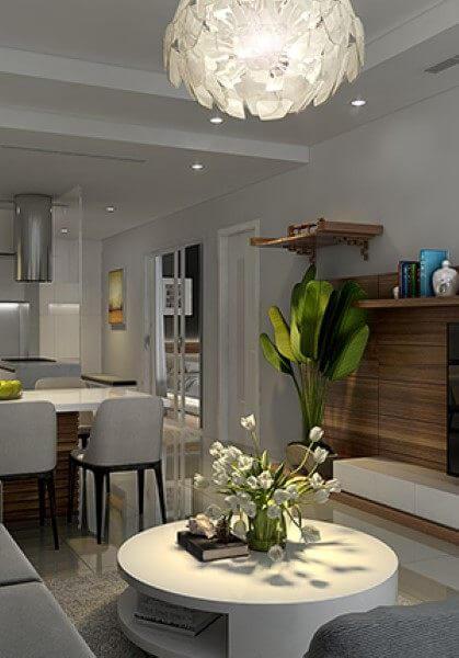 Thiết kế nội thất căn hộ chung cư Royal City trẻ trung hiện đại - Anh Hùng