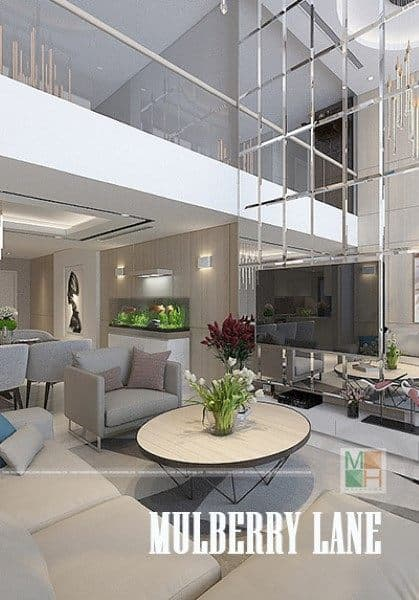 Thiết kế nội thất chung cư duplex Mulberry Lane