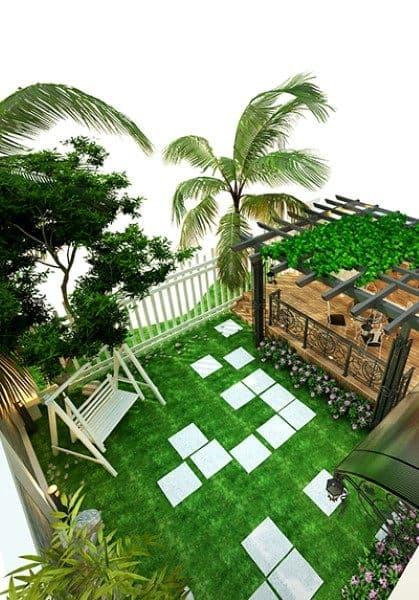 Thiết kế nội thất biệt thự Vinhomes Riverside tân cổ điển sang trọng- Khu biệt thự Hoa Lan HL0516