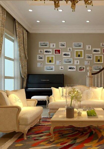 Thiết kế nội thất biệt thự cao cấp Vincom Village Hoa Lan - HL0521