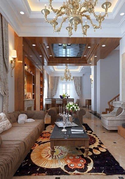 Thiết kế nội thất biệt thự cao cấp Vincom Village Hoa Sữa - HS0568
