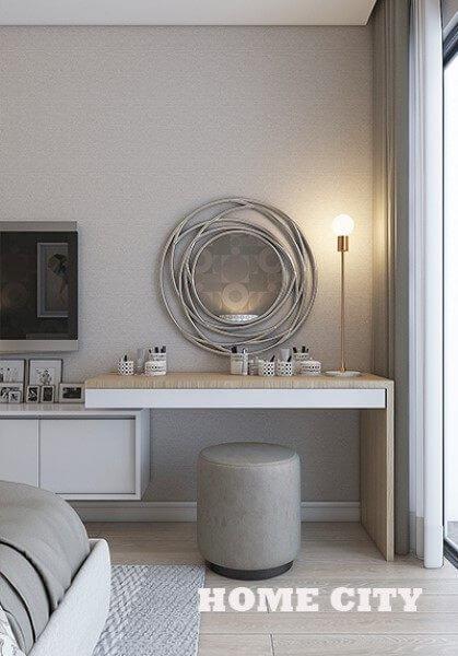 Thiết kế nội thất căn hộ chung cư Home City Trung Kính - Chị Giang phong cách hiện đại trẻ trung