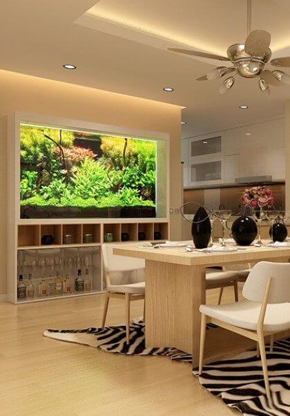 Thiết kế nội thất chung cư Mandarin Garden Hòa Phát - 1006C2 - Anh Cường
