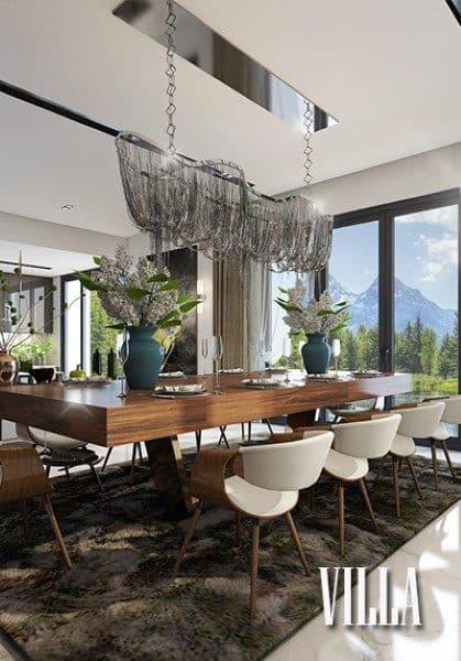 Thiết kế nội thất biệt thự hiện đại cao cấp, đẹp, sang trọng