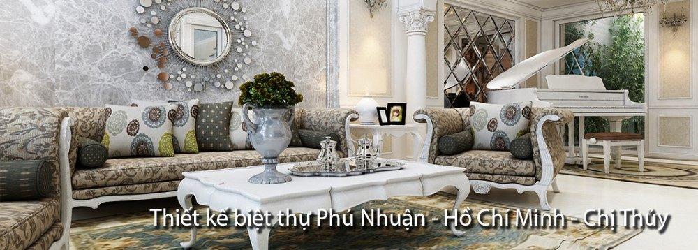 Thiết kế biệt thự sài gòn - Chị Thủy Phú Nhuận