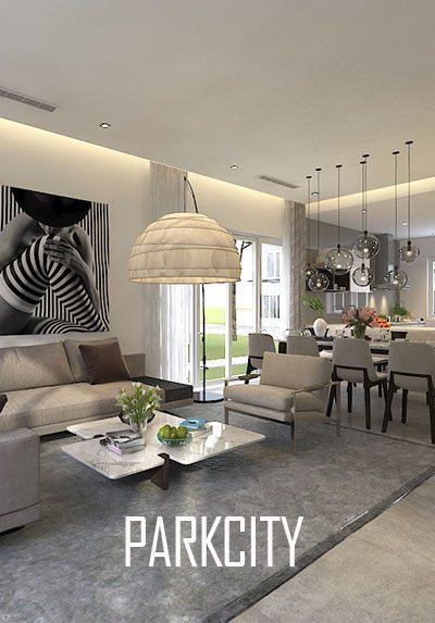 Thiết kế biệt thự ParkCity phong cách hiện đại cao cấp