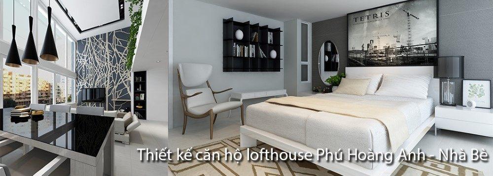 Thiết kế căn hộ Penthouse Phú Hoàng Anh - Nhà Bè - Hồ Chí Minh