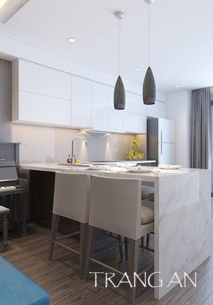 Thiết kế nội thất căn hộ chung cư Tràng An - chị Linh