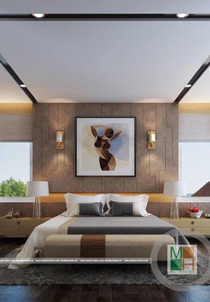 Thiết kế nội thất nhà phố phong cách hiện đại - Anh Cường