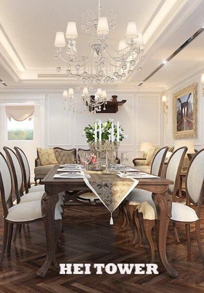 Thiết kế nội thất căn hộ chung cư HEI TOWER cao cấp- Nhà chị Ngọc