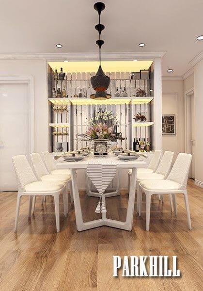 Mẫu thiết kế nội thất chung cư Park Hill Premium đẹp sang trọng
