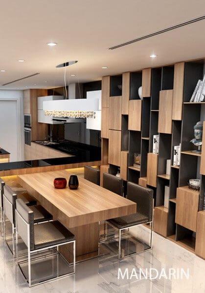 Thiết kế nội thất chung cư hiện đại cao cấp - chị Lan