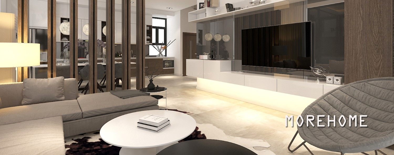 Thiết kế nội thất nhà lô phố Quận Tây Hồ