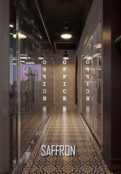 Thiết kế văn phòng cao cấp SAFFRON không gian khoa học, đẹp