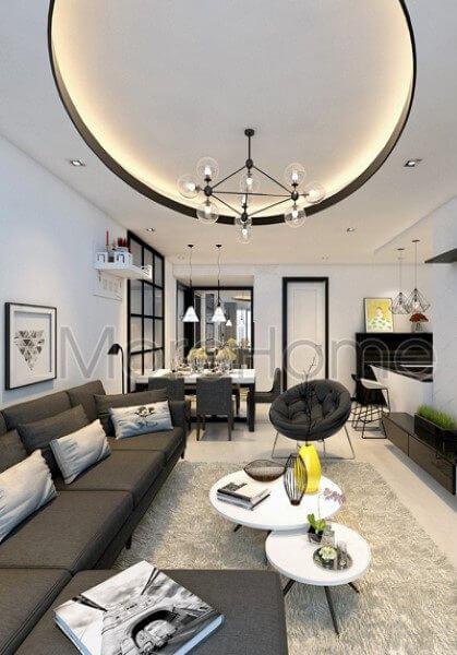 Thiết kế nội thất căn hộ Sunrise City Quận 7 - Anh Hậu