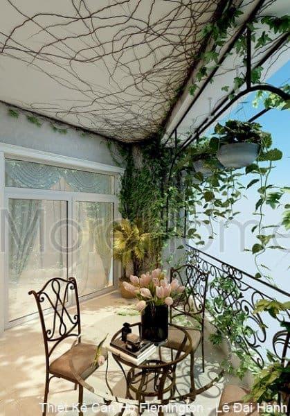 Thiết kế nội thất căn hộ chung cư Flemington Lê Đại Hành phong cách tân cổ điển - Quận 11