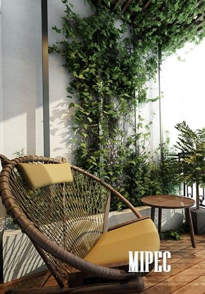 Thiết kế chung cư đậm phong cách hiện đại tại Mipec Long Biên