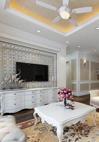Trang trí nội thất chung cư Mandarin Garden - Anh Hạnh