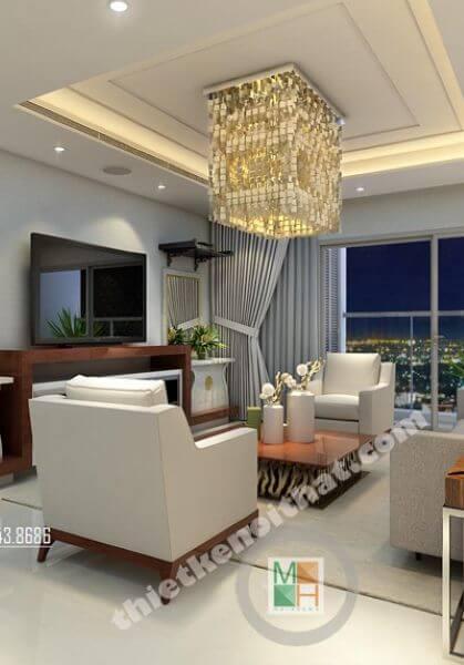 Thiết kế nội thất chung cư VinHome 56 Nguyễn Chí Thanh - Chị Tú