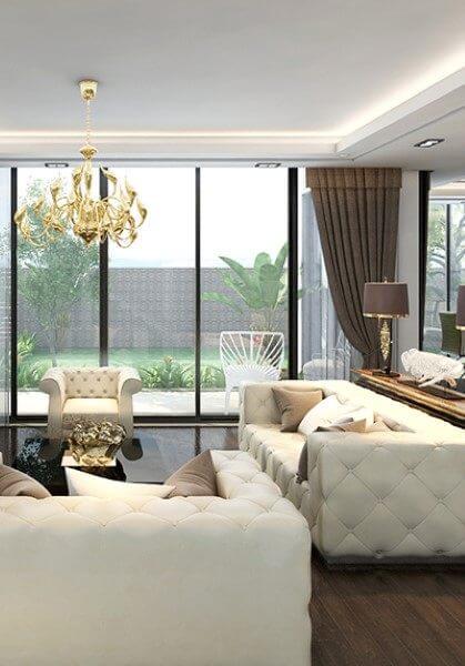 Thiết kế nội thất biệt thự cao cấp hiện đại tại Tp Vinh Nghệ An