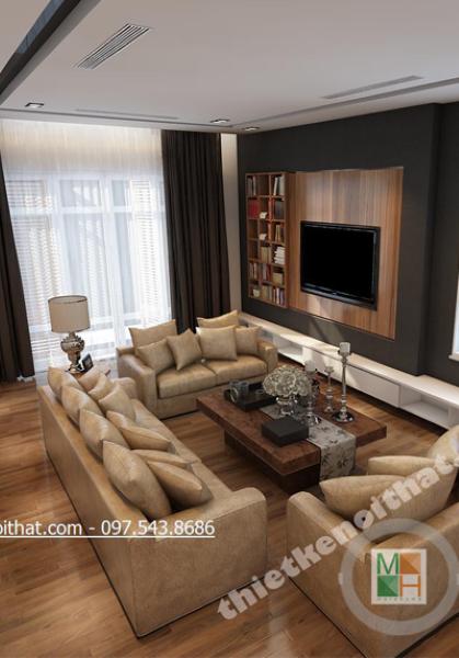 Thiết kế nội thất biệt thự Huyndai HillState - Chị Loan