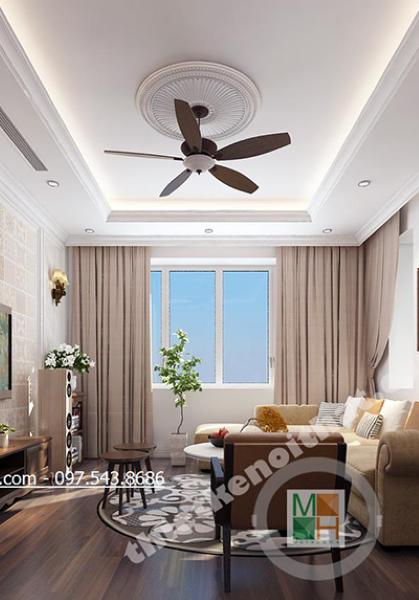 Thiết kế nội thất biệt thự SPLENDORA Bắc An Khánh