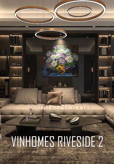 Thiết kế biệt thự Vinhomes Riverside The Harmony không gian đẹp, sang