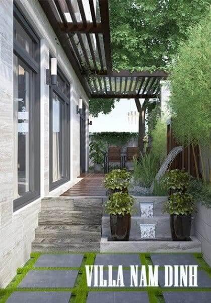 Thiết kế nội thất biệt thự Nam Định