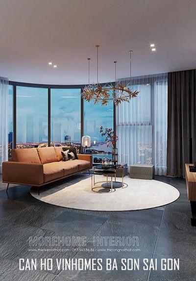 Thiết kế căn hộ Vinhomes BaSon Sài Gòn hiện đại