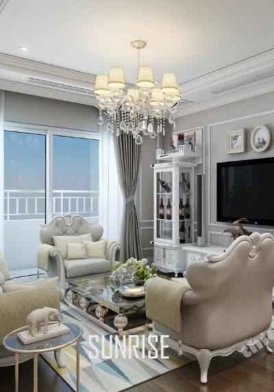 Thiết kế nội thất căn hộ Sunrise City Central - W1 - Hồ Chí Minh