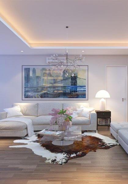 Thiết kế thi công nội thất chung cư hiện đại G03AB Trung Hòa - Mr Liên