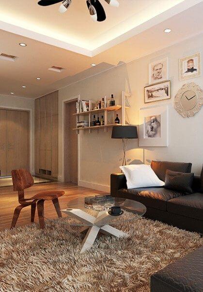 Thiết kế nội thất chung cư Mandarin Garden - Anh Hà