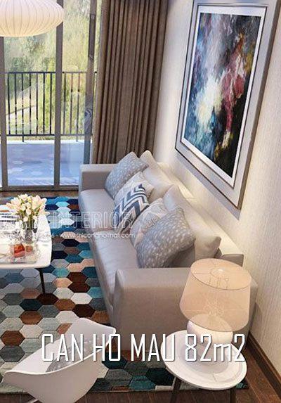 Thiết kế và thi công nội thất căn hộ mẫu Imperia Sky Garden 82m2