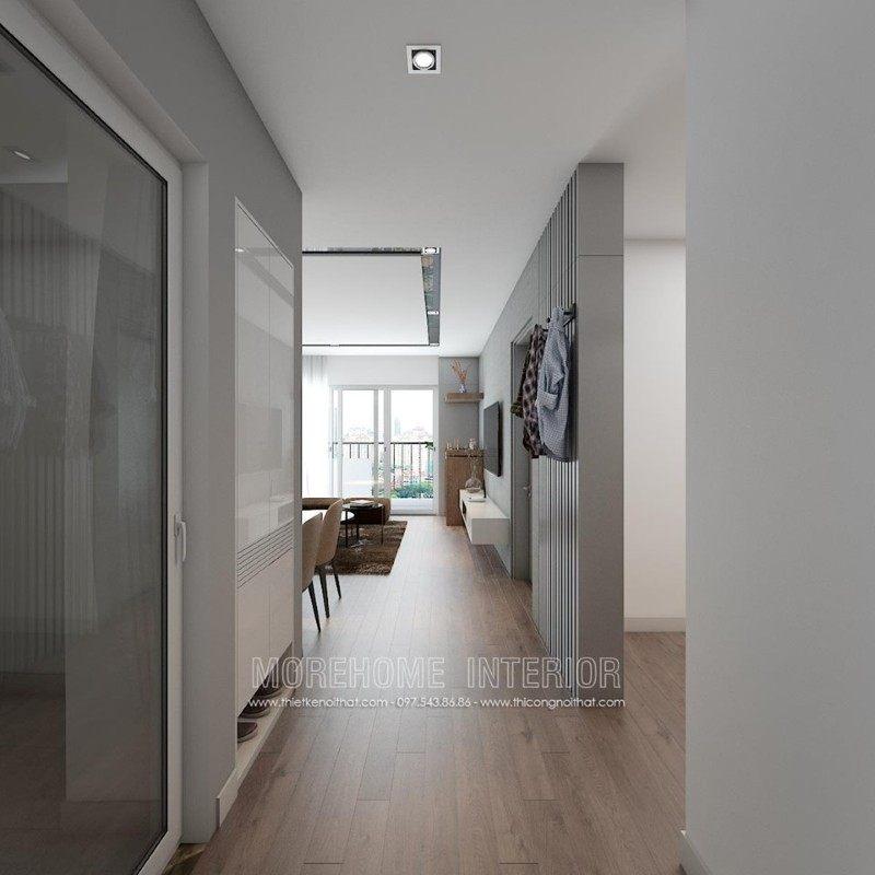 Thiết kế nội thất chung cư k35 tân mai hoàng mai hà nội