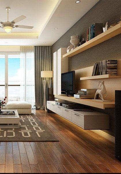 Thiết kế thi công nội thất chung cư Mandarin Garden Hòa Phát - Chị Hiền