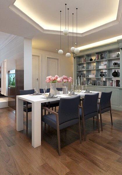 Thiết kế nội thất căn hộ chung cư Mandarin Tòa A1505 - Chị My Lan